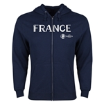 France Euro 2016 Core Hoody Jacket (Navy)