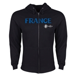 France Euro 2016 Core Hoody Jacket (Black)