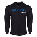 Iceland Euro 2016 Core Hoody Jacket (Black)