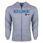 Iceland Euro 2016 Core Hoody Jacket (Grey)