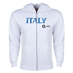 Italy Euro 2016 Core Hoody Jacket (White)