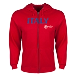 Italy Euro 2016 Core Hoody Jacket (Red)