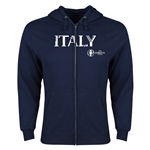 Italy Euro 2016 Core Hoody Jacket (Navy)