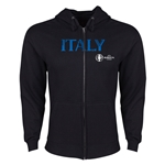 Italy Euro 2016 Core Hoody Jacket (Black)