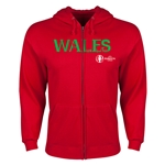 Wales Euro 2016 Core Hoody Jacket (Red)