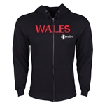 Wales Euro 2016 Core Hoody Jacket (Black)