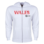 Wales Euro 2016 Core Hoody Jacket (White)