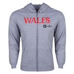 Wales Euro 2016 Core Hoody Jacket (Grey)