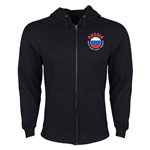 Russia Euro 2016 Fashion Hoody Jacket (Black)