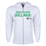 Northern Ireland Euro 2016 Core Hoody Jacket (White)