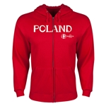 Poland Euro 2016 Core Hoody Jacket (Red)