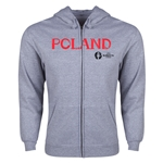 Poland Euro 2016 Core Hoody Jacket (Grey)