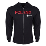 Poland Euro 2016 Core Hoody Jacket (Black)