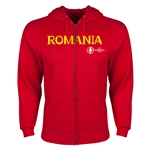 Romania Euro 2016 Core Hoody Jacket (Red)