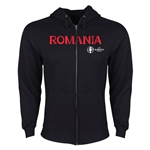 Romania Euro 2016 Core Hoody Jacket (Black)