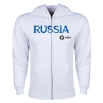 Russia Euro 2016 Core Hoody Jacket (White)