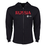 Russia Euro 2016 Core Hoody Jacket (Black)