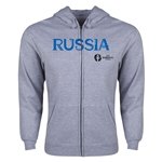 Russia Euro 2016 Core Hoody Jacket (Grey)