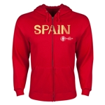 Spain Euro 2016 Core Hoody Jacket (Red)