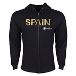 Spain Euro 2016 Core Hoody Jacket (Black)