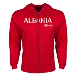 Albania Euro 2016 Core Hoody Jacket (Red)