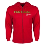 Portugal Euro 2016 Core Hoody Jacket (Red)