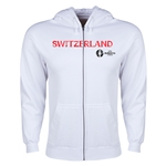 Switzerland Euro 2016 Core Hoody Jacket (White)