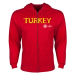 Turkey Euro 2016 Core Hoody Jacket (Red)