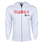 Turkey Euro 2016 Core Hoody Jacket (White)