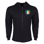 Ireland Euro 2016 Fashion Hoody Jacket (Black)