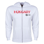 Hungary Euro 2016 Core Hoody Jacket (White)