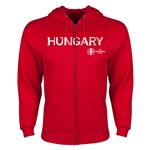 Hungary Euro 2016 Core Hoody Jacket (Red)
