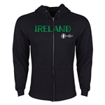 Ireland Euro 2016 Core Hoody Jacket (Black)