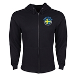 Sweden Euro 2016 Fashion Hoody Jacket (Black)