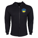 Ukraine Euro 2016 Fashion Hoody Jacket (Black)