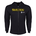 Sweden Euro 2016 Core Hoody Jacket (Black)