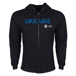 Ukraine Euro 2016 Core Hoody Jacket (Black)