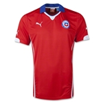 Chile 14/15 Home Soccer Jersey