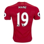 Liverpool 16/17 MANE Authentic Home Soccer Jersey