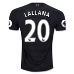 Liverpool 16/17 LALLANA Away Soccer Jersey
