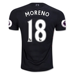 Liverpool 16/17 MORENO Away Soccer Jersey