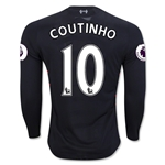 Liverpool 16/17 COUTINHO LS Away Soccer Jersey
