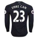 Liverpool 16/17 EMRE CAN LS Away Soccer Jersey