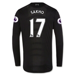 Liverpool 16/17 SAKHO LS Away Soccer Jersey
