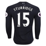 Liverpool 16/17 STURRIDGE LS Away Soccer Jersey