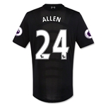 Liverpool 16/17 ALLEN Authentic Away Soccer Jersey