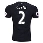 Liverpool 16/17 CLYNE Authentic Away Soccer Jersey