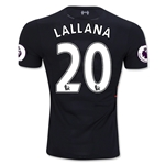 Liverpool 16/17 LALLANA Authentic Away Soccer Jersey