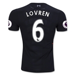 Liverpool 16/17 LOVREN Authentic Away Soccer Jersey