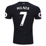 Liverpool 16/17 MILNER Authentic Away Soccer Jersey